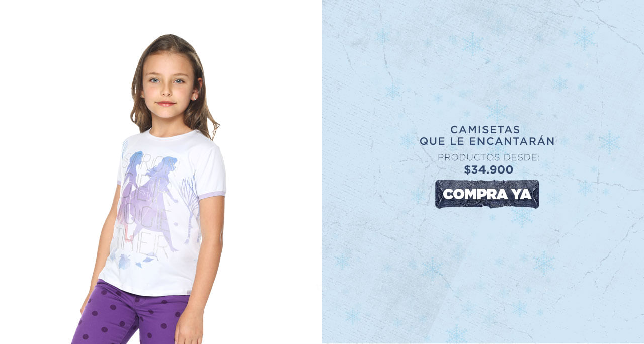 Totto y Frozen 2 de Disney -Camisetas