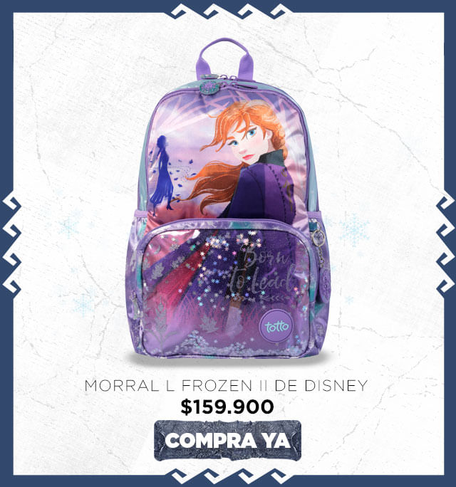 Morral grande Frozen 2 Totto