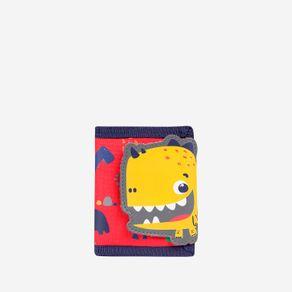 billetera-para-nino-dinosaurio-flealy-rojo