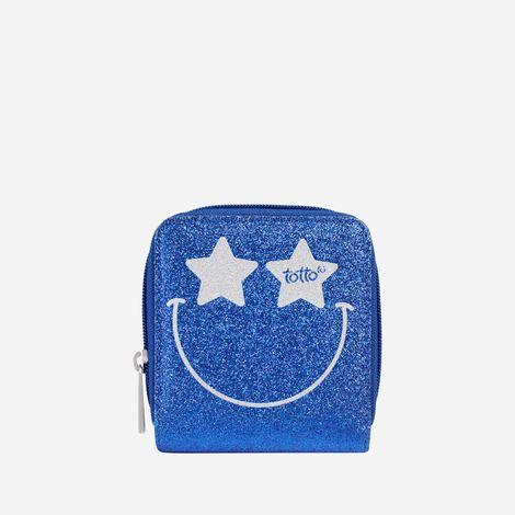 billetera-para-nina-carita-brillante-lunatica-azul