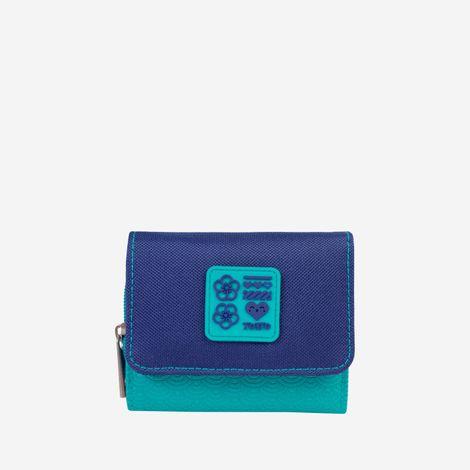 billetera-para-mujer-en-lona-oreca-azul