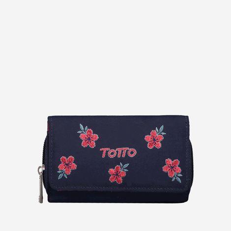 billetera-para-mujer-en-lona-bordado-flores-paracas-azul