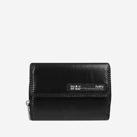 billetera-para-mujer-brillante-minchir-negro