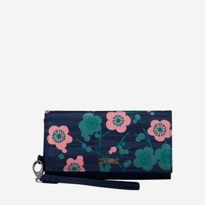 billetera-para-mujer-porta-celular-en-lona-flores-sahula-azul