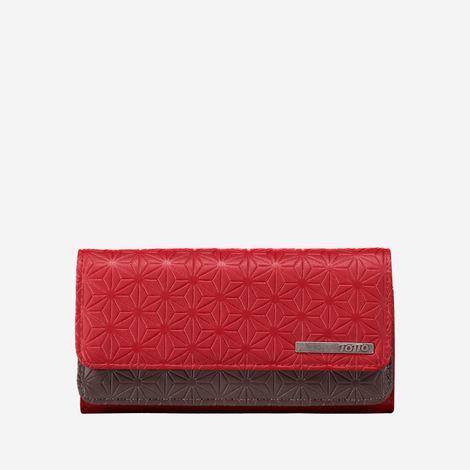 billetera-para-mujer-alargada-en-pu-leather-subra-rojo