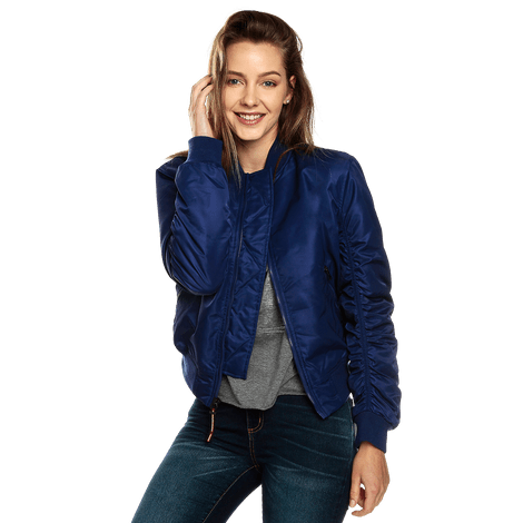 chaqueta-para-mujer-bomber-haruki-azul-blueprint