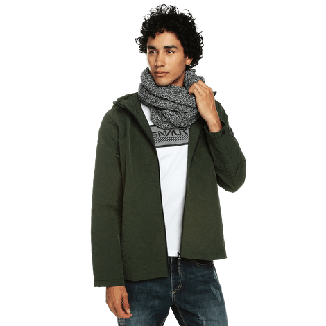 chaqueta-para-hombre-con-capota-cuello-alto-sendany-verde-rosin