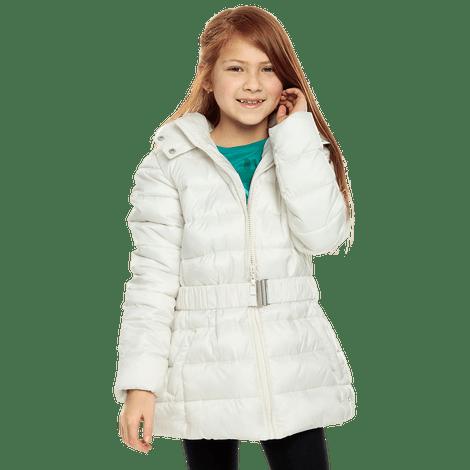 chaqueta-para-nina-con-cinturon-y-capota-kuzo-blanco-snow-white