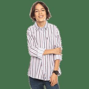 camisa-para-nino-manga-larga-a-rayas-damario-estampado-11y-white-and-red-stripes