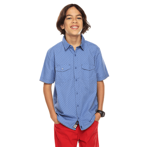 camisa-para-nino-manga-corta-tayliton-estampado-11y-kentucky-blue-mini-print