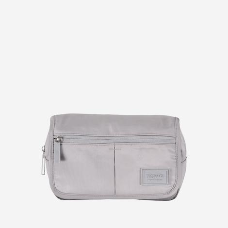 canguro-para-mujer-en-lona-brillante-hiker-gris-silver