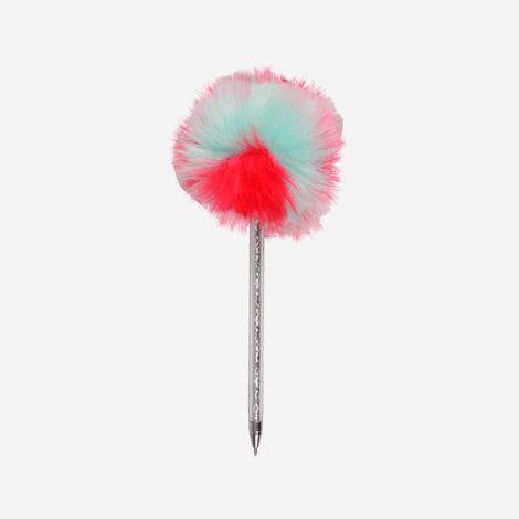 lapicero-para-nina-pompon-colorido-tinta-gardan-rosado-rosado-azul-rojo