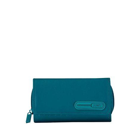 Billetera-para-Mujer-en-Lona-Famsa-azul-brittany-blue