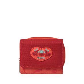 Billetera-para-Mujer-en-Lona-Oreca-rojo-lollipop