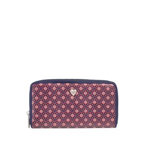 Billetera-para-Mujer-en-Pu-Leather-Estampada-Psala-azul-fury