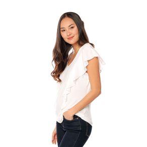 Blusa-para-Mujer-con-Boleros-Nexaca-blanco-snow-white