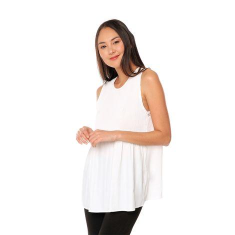 Blusa-para-Mujer-plisada-en-frente-Atil-blanco-snow-white