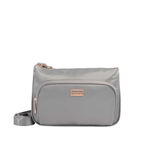 Bolso-con-Correa-ajustable-Pequeño-Karapai-gris-titanium