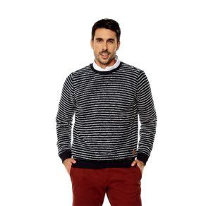 Buzo-para-Hombre-Cuello-Redondo-Pemex-azul-pemex-navy-blazer-stripe