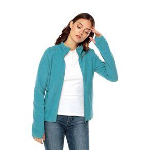 Buzo-para-Mujer-de-fleece-Fliza-azul-brittany-blue
