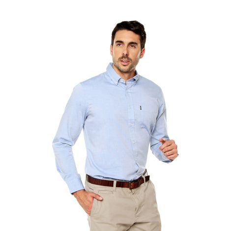 Camisa-para-Hombre-Cuello-Button-Down-Regular-Fit-Chelo-azul-dutch-blue