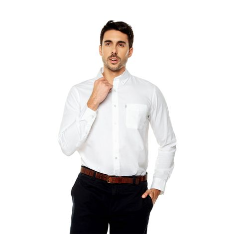 Camisa-para-Hombre-Cuello-Button-Down-Regular-Fit-Chelo-blanco-blanco-white