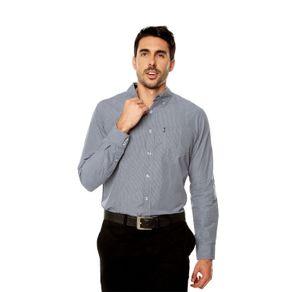 Camisa-para-Hombre-Cuello-Button-Down-Regular-Fit-Down-Ml-azul-dutch-blue-mini-stripes