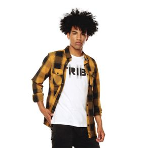Camisa-para-Hombre-Cuello-Clasico-Regular-Fit-Braunfels-amarillo-chai-tea-black-checks