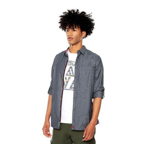 Camisa-para-Hombre-Cuello-Clasico-Regular-Fit-Codorachi-azul-indigo