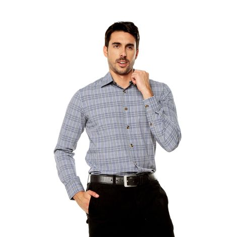 Camisa-para-Hombre-Cuello-Clasico-Regular-Fit-Indostan-azul-astral-aura-checks