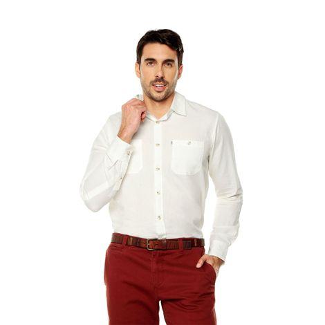 Camisa-para-Hombre-Cuello-Clasico-Regular-Fit-Olivery-Ml-blanco-snow-white