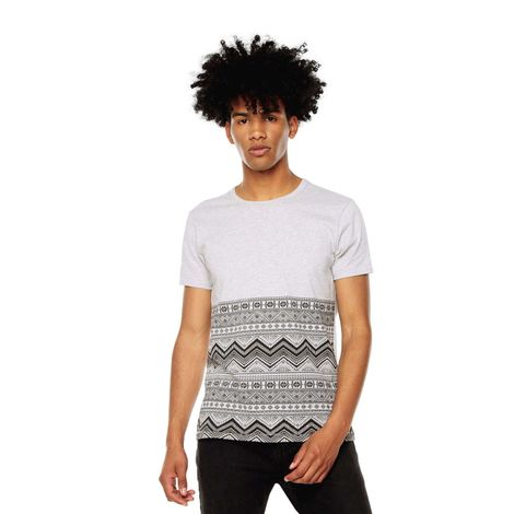 Camiseta-para-Hombre-Estampada-Egteny-gris-gray-mix