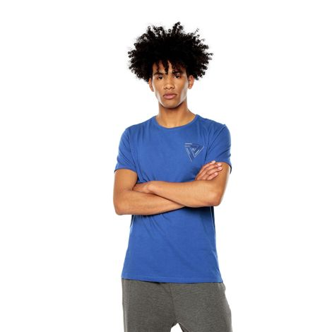Camiseta-para-Hombre-Estampada-Mode-1-azul-limoges