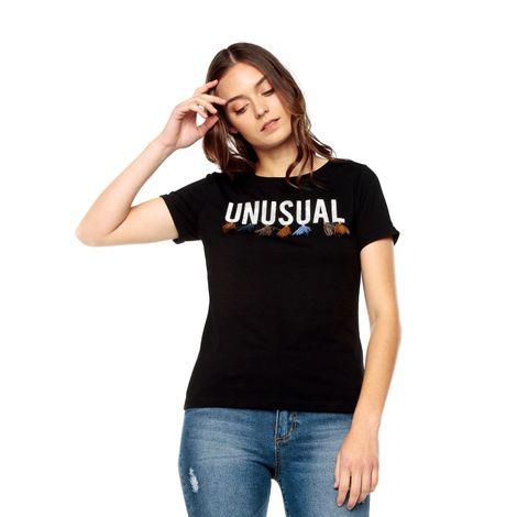 Camiseta-para-Mujer-Estampada-con-borlas-Arfy-1-negro-negro-black