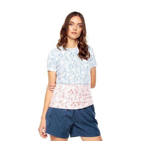 Camiseta-para-Mujer-Full-Print-Bigar-blanco-bigar-blue-and-pink-reja
