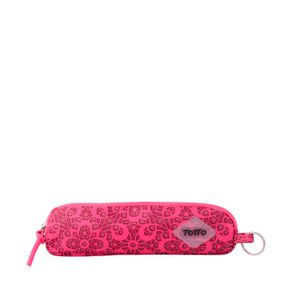 Cartuchera-para-Mujer-Estampada-en-Lona-Kiriby-rosado-ojal