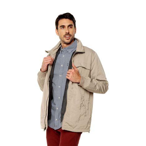 Chaqueta-para-Hombre-Cuello-Alto-Cuilco-terreo-vintage-khaki