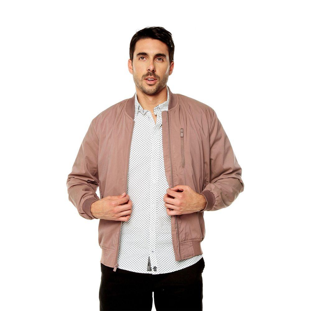 chaqueta tipo bomber hombre
