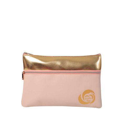 Cosmetiquera-Escarcha-terreo-terreo-rosado