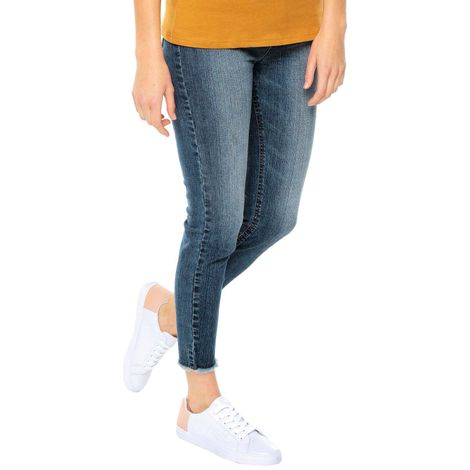 Jeans-para-Mujer-Skinny-y-rotos-Vronzo-azul-indigo