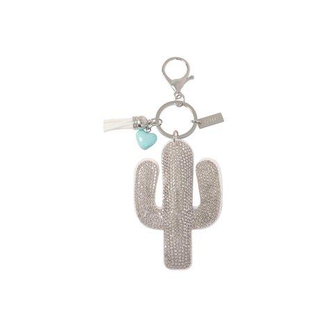 Llavero-para-Mujer-Desierto-gris-silver