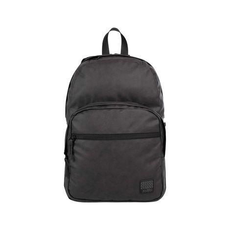 Morral-con-Porta-Pc-con-Textura-Encerada-Malecon-negro-negro-black