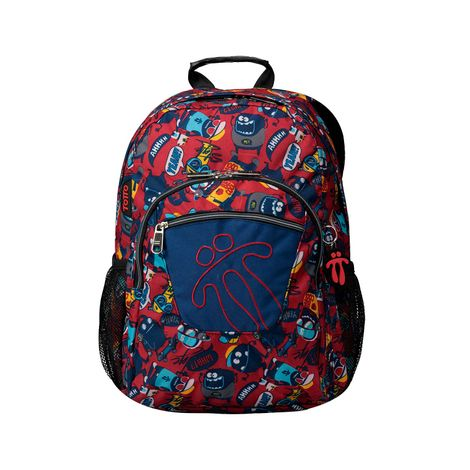 Morral-Mediano-estampado-Acuarela-rojo-growny