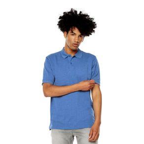 Polo-para-Hombre-Basica-Spencer-azul-faded-denim
