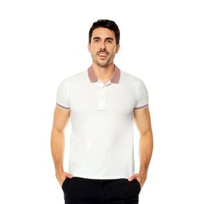 Polo-para-Hombre-Chinapa-blanco-snow-white