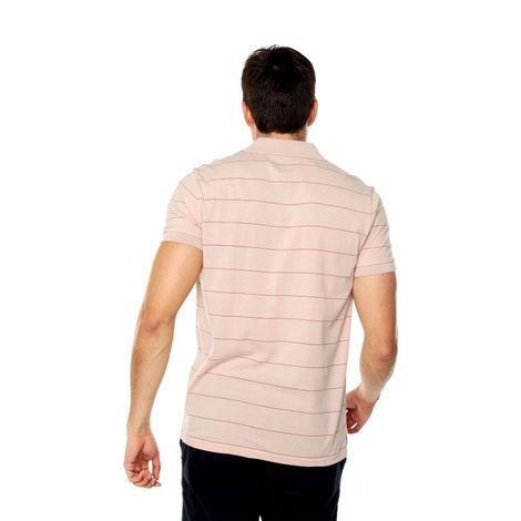 Polo-para-Hombre-Preteñida-Marivi-rosado-marivi-peach-whip-stripes