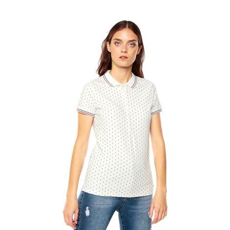 Polo-para-Mujer-Full-Print-Ainara-blanco-ainara-snow-white-diamond