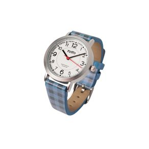 Reloj-para-Mujer-Analogo-Toboga-azul-vichy-blue