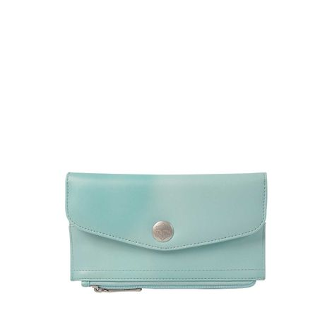 Billetera-para-Mujer-en-Pu-Leather-Tolata-rosado-blur-cloud-pink-verde-blur-cloud-green