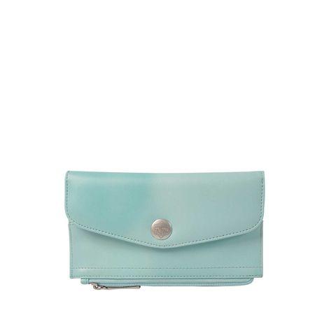 Billetera-para-Mujer-en-Pu-Leather-Tolata-rosado-blur-cloud-pink-verde-blur-cloud-green